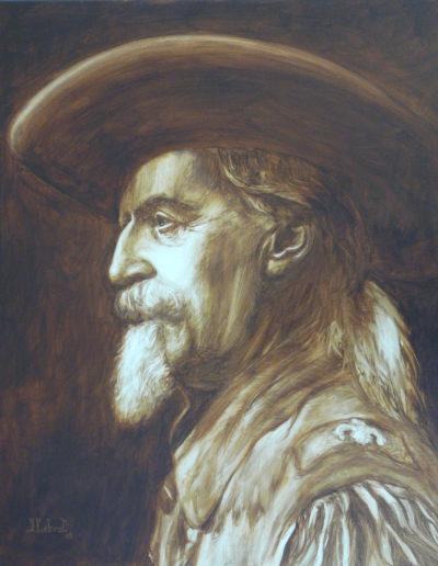 """Buffalo Bill"" 61 x 50 cm"